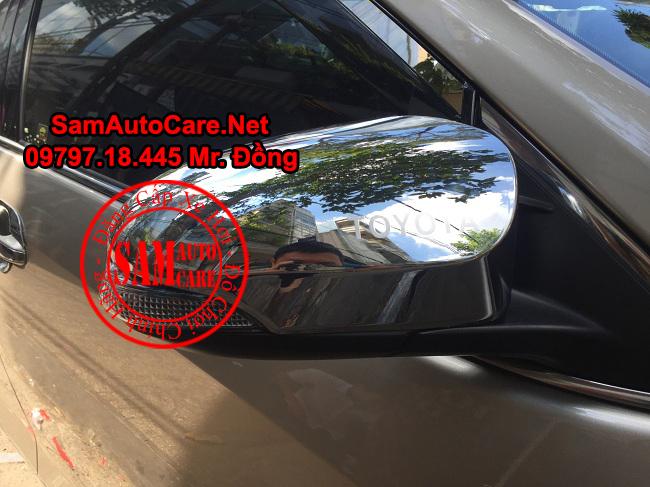 Ốp Gương Inox Cho Xe Toyota Camry