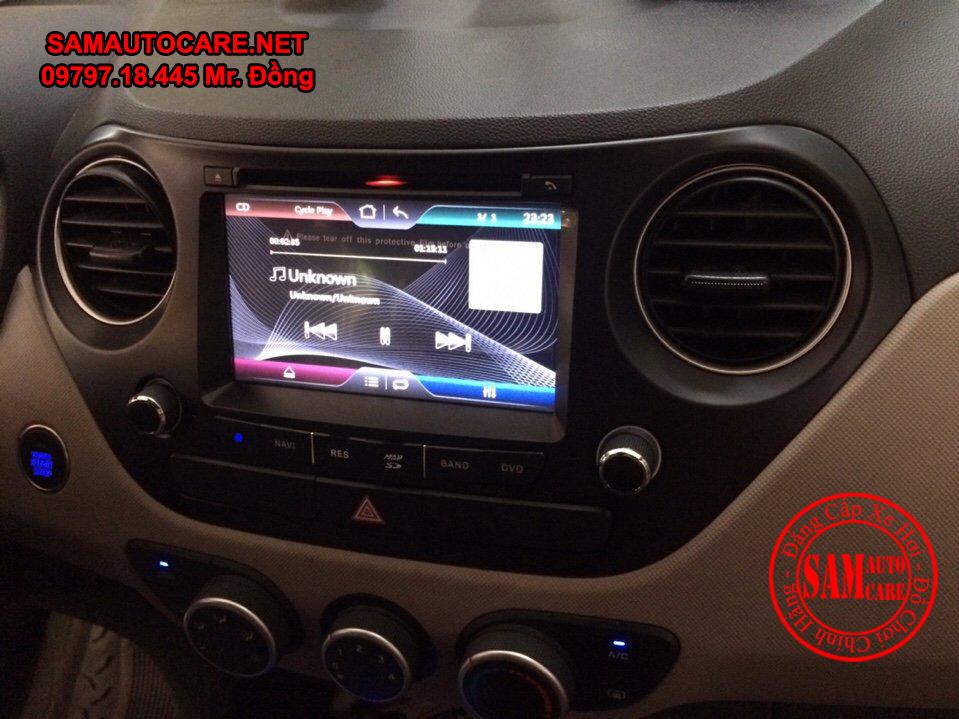 Màn Hình DVD Worca S90 Cho Xe Hyundai Grand I10