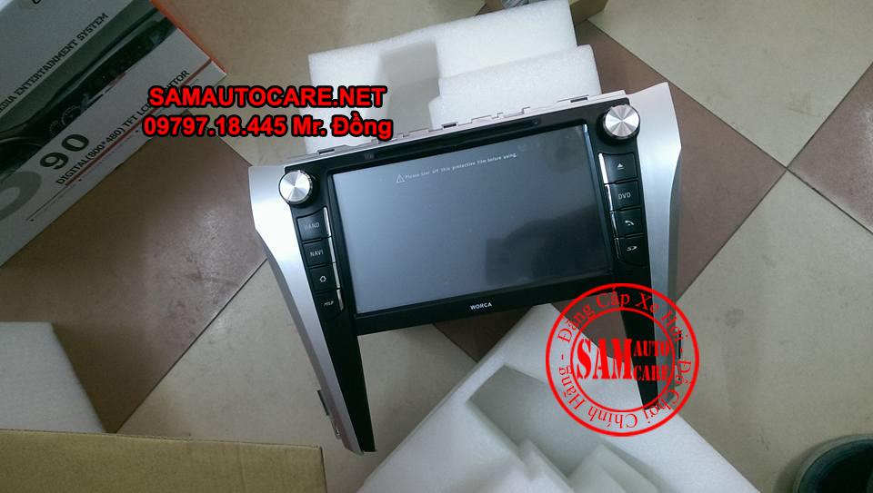 Màn Hình DVD Worca S90 Cho Xe  Toyota Camry