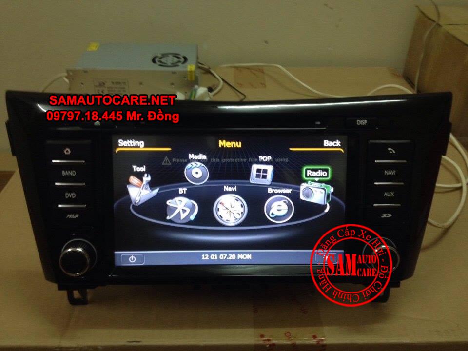 Màn Hình DVD Worca S90 Cho Xe  Nissan Navara