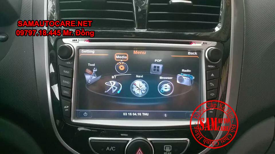 Màn Hình DVD Worca S90 Cho Xe Hyundai Acent
