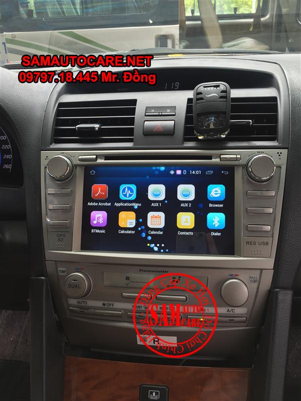Màn Hình DVD Android ôtô Toyota Camry 2006- 2011