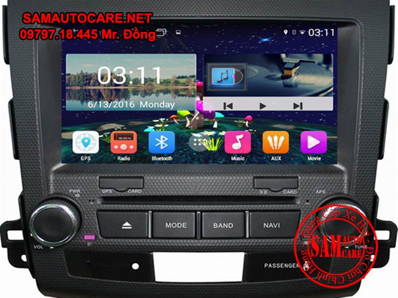 DVD Android ôtô Mitsubishi Outlander