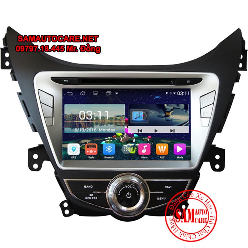 DVD Android ôtô Hyundai Elantra