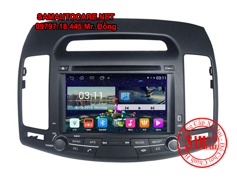 DVD Android ôtô Hyundai Avante