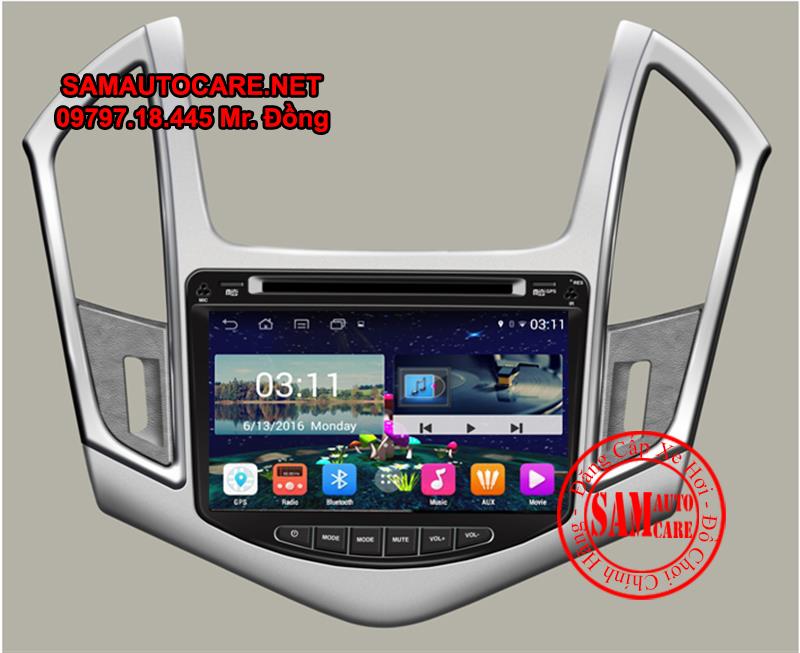 DVD Android ôtô Chevrolet Cruze