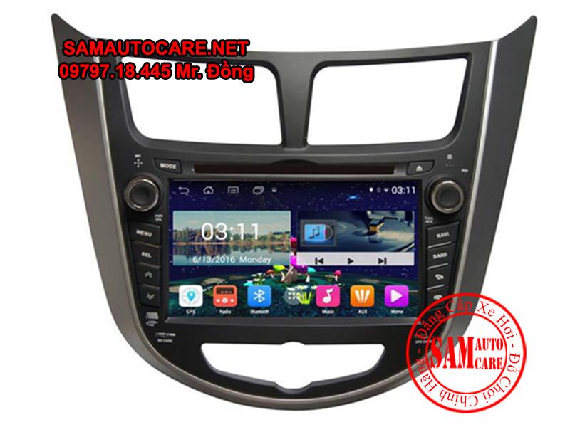 DVD Android ôtô Hyundai Accent
