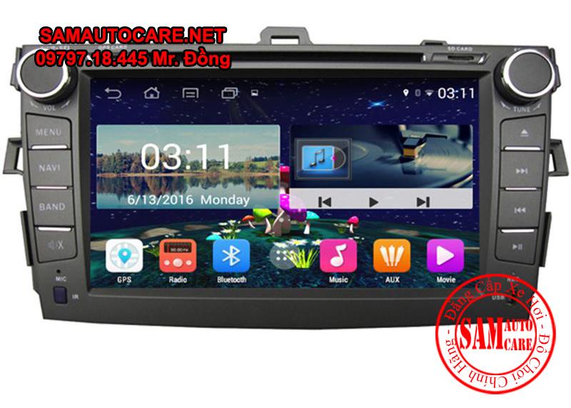 DVD Android Xe ôtô Corolla Altis