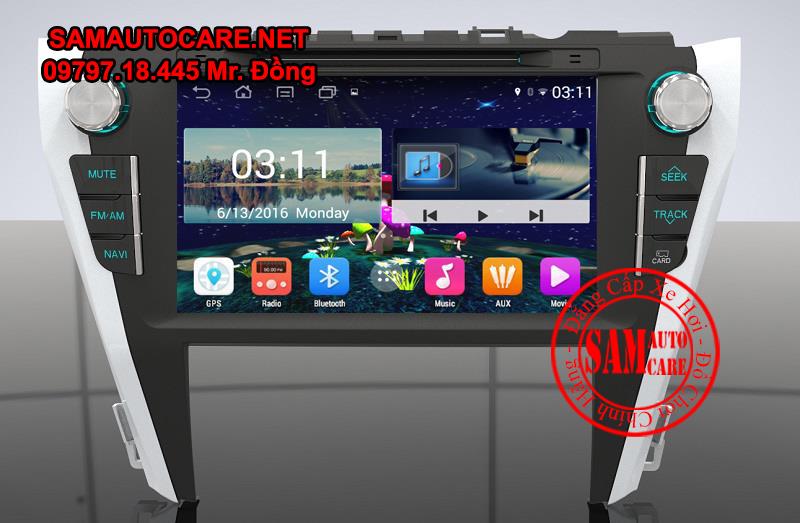 DVD Android Xe ôtô Camry