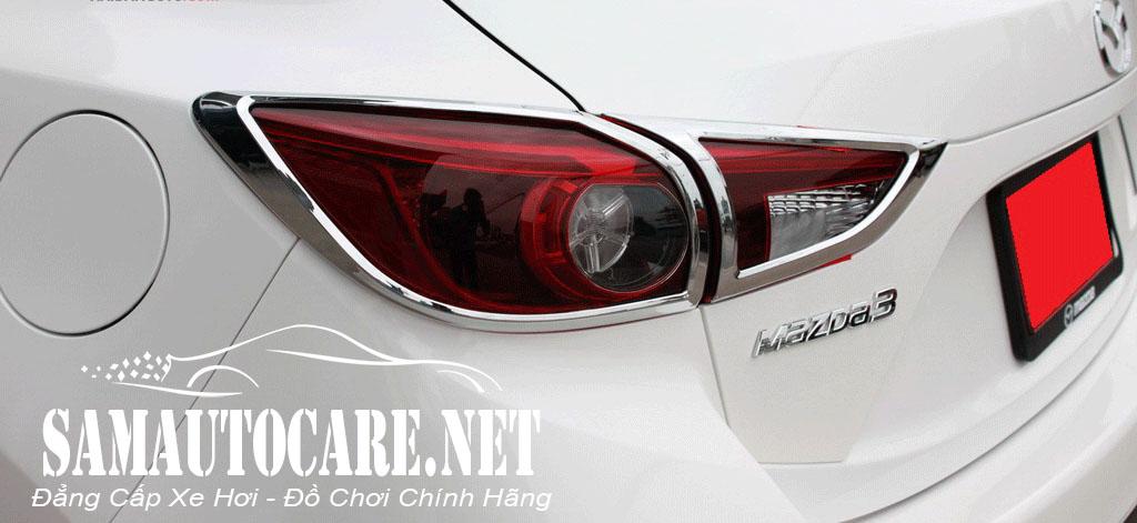Viền đèn Sau Mazda 3