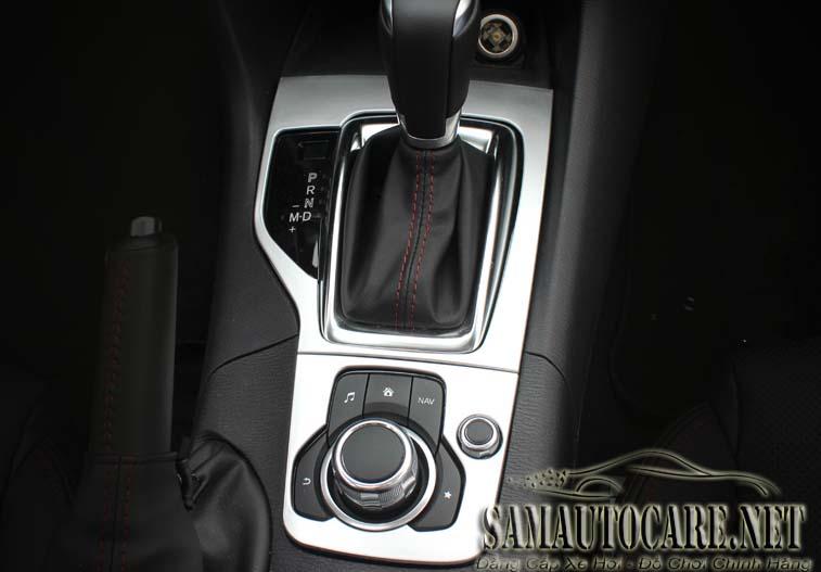 Ốp Cần Số Mạ Crom Cho Mazda 3