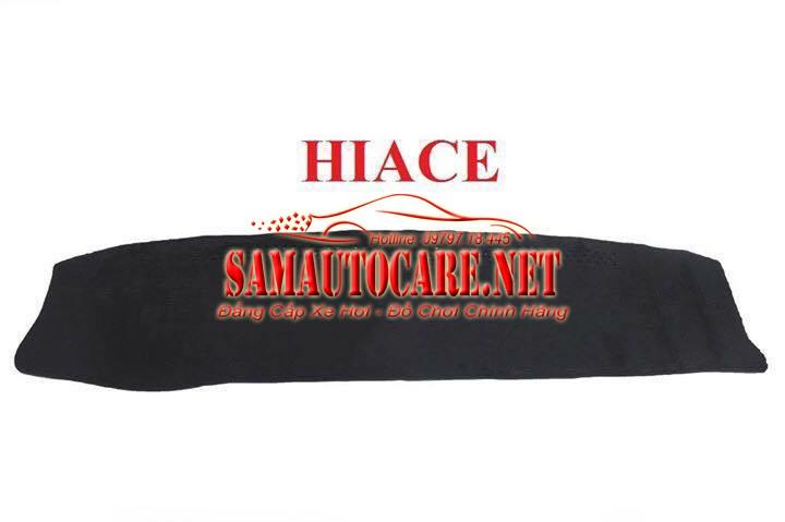 Thảm Taplo Lông Cừu Korea Xe HIACE