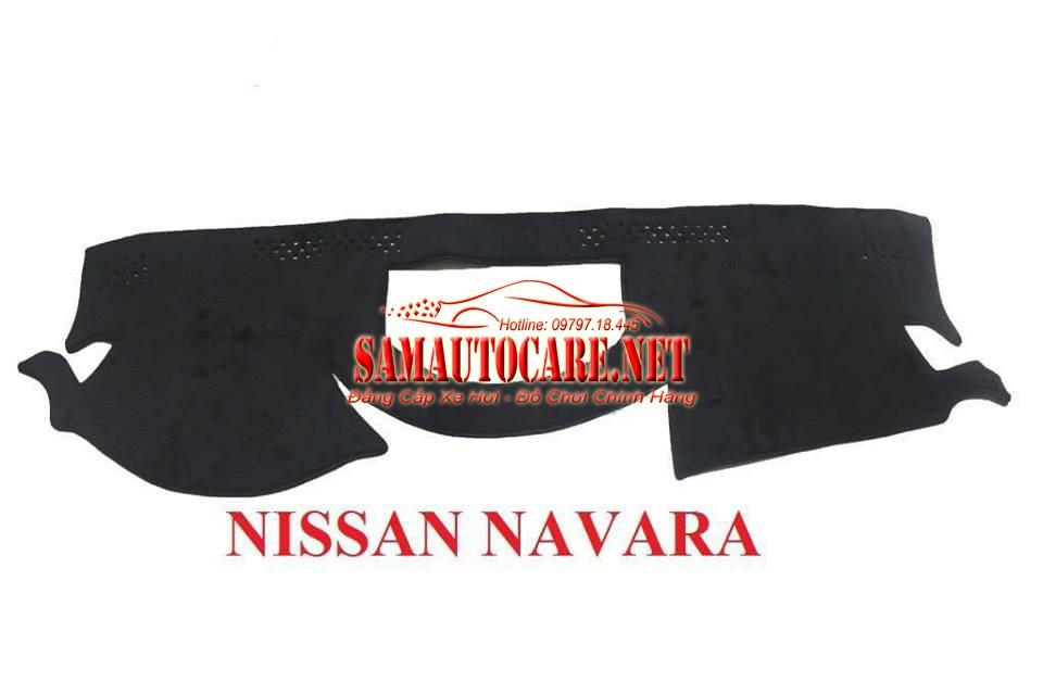 Thảm Taplo Lông Cừu Korea Xe Nissan Navara