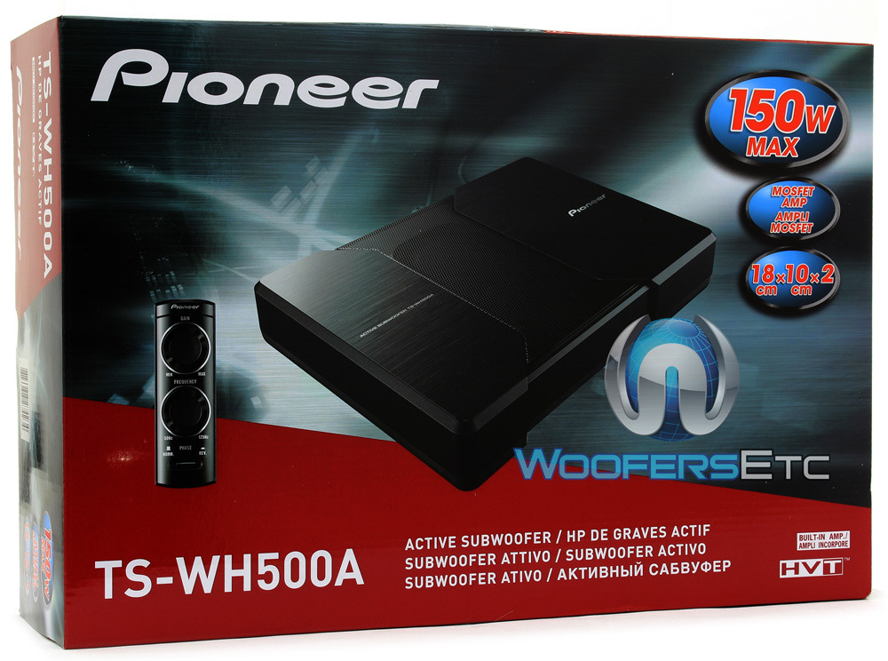 SUB PIONEER TS-WH500A