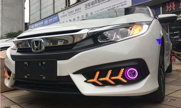 Led Gầm Honda Civic 2017