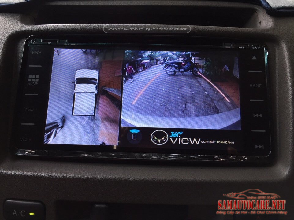 Camera 360 Oview Toyota Innova