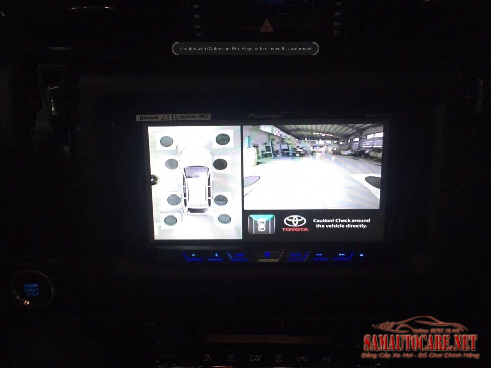 Camera 360 Panorama Toyota Fortuner 2017
