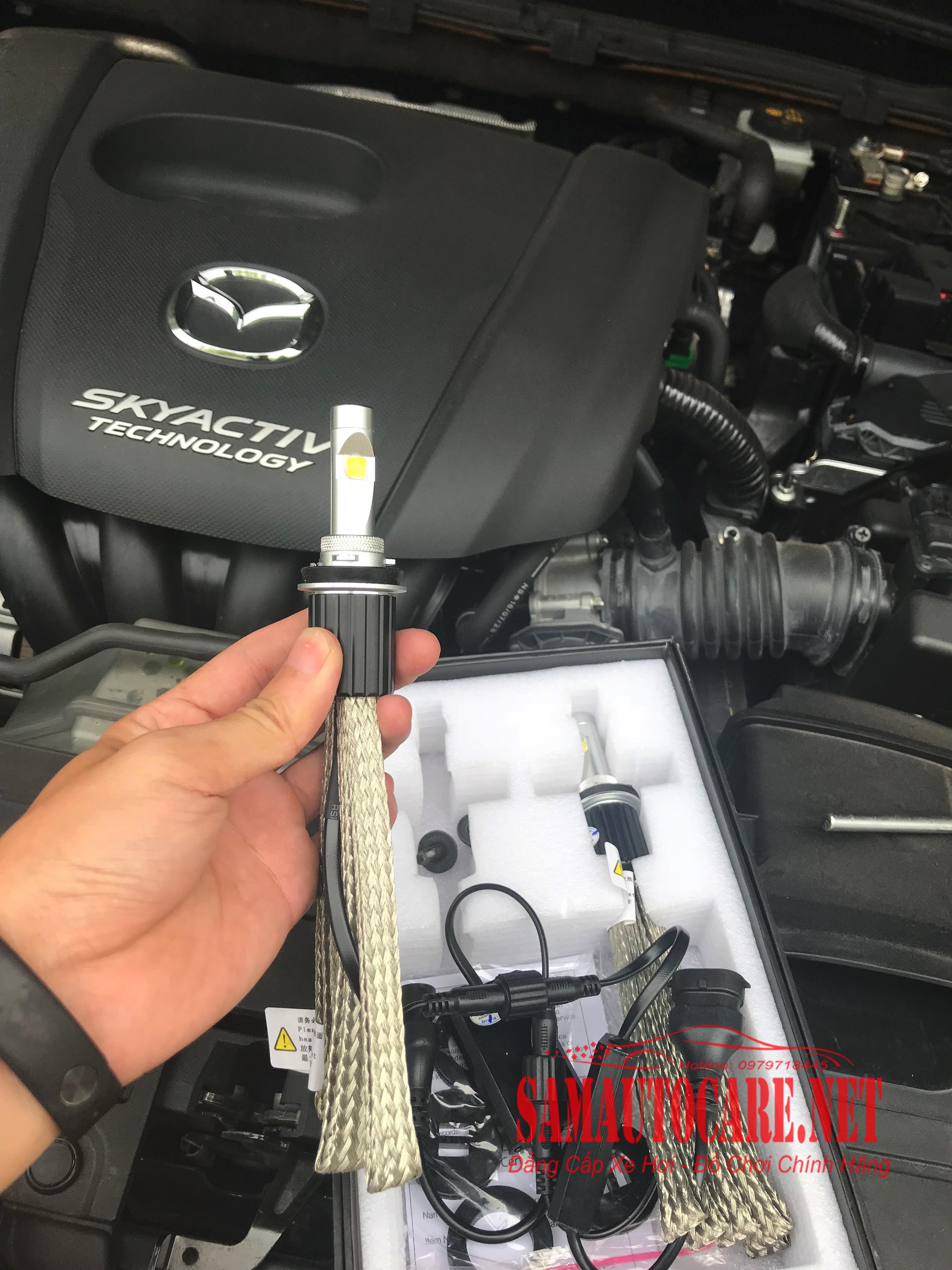 Led L7 XHP70 Xe Mazda 3 2017