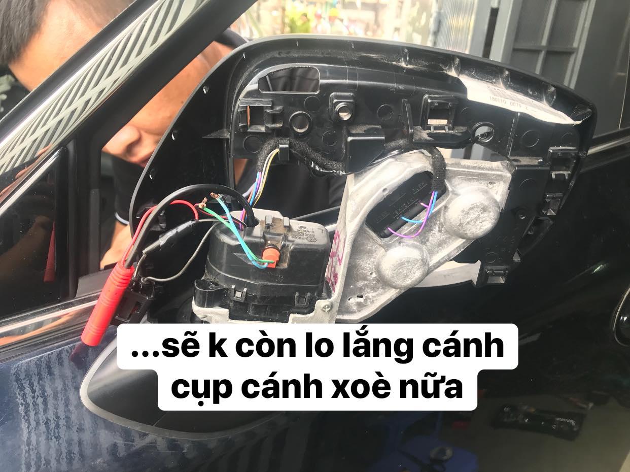 Khắc Phục Lỗi Cụp Gương Mazda 2, 3, 6, CX5