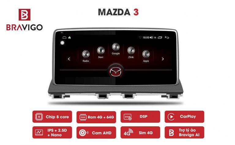 Siêu Phẩm Màn Hình Android Mazda 2, 3, 6, CX5 2020