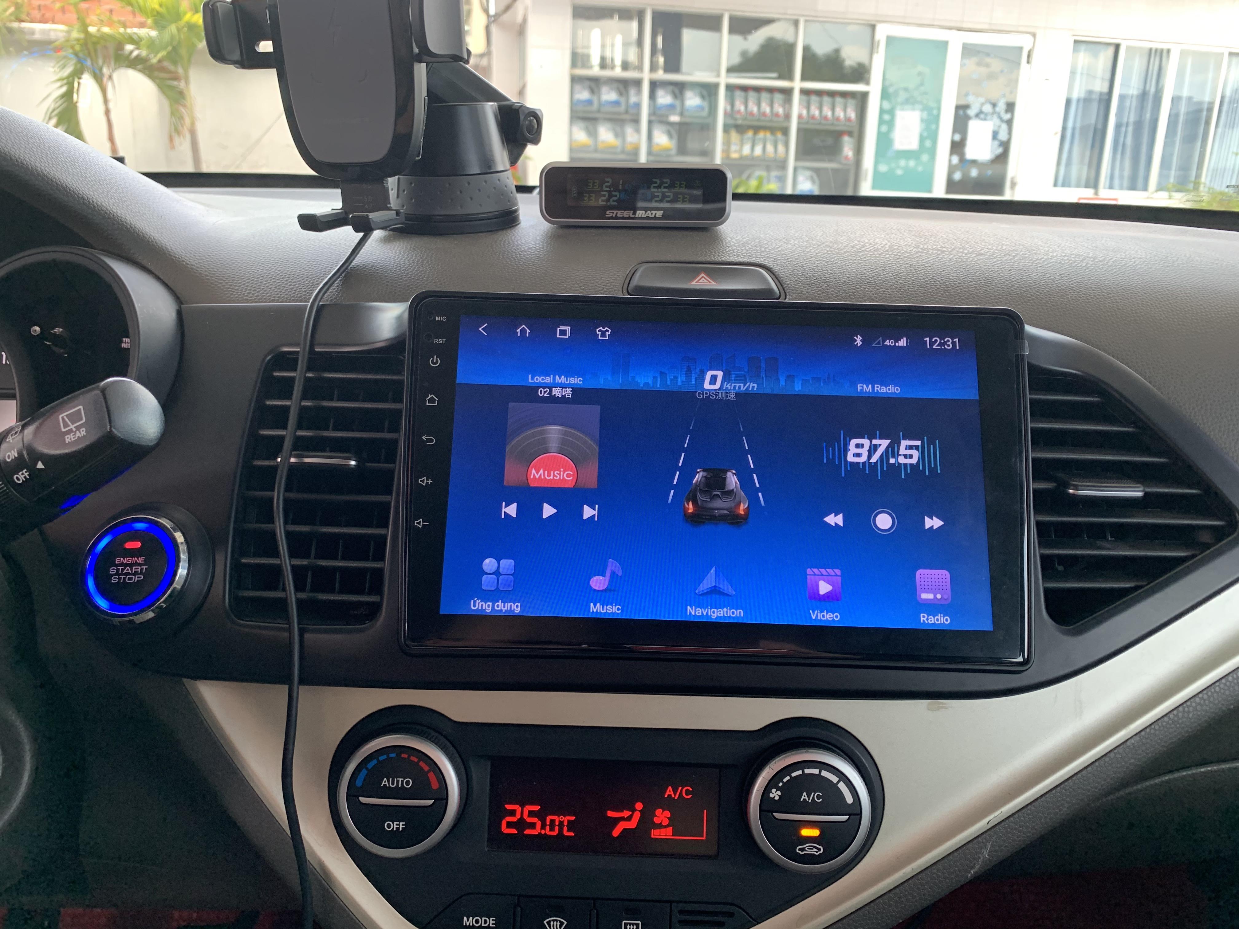 Màn Hình DVD Android Xe Kia Monring