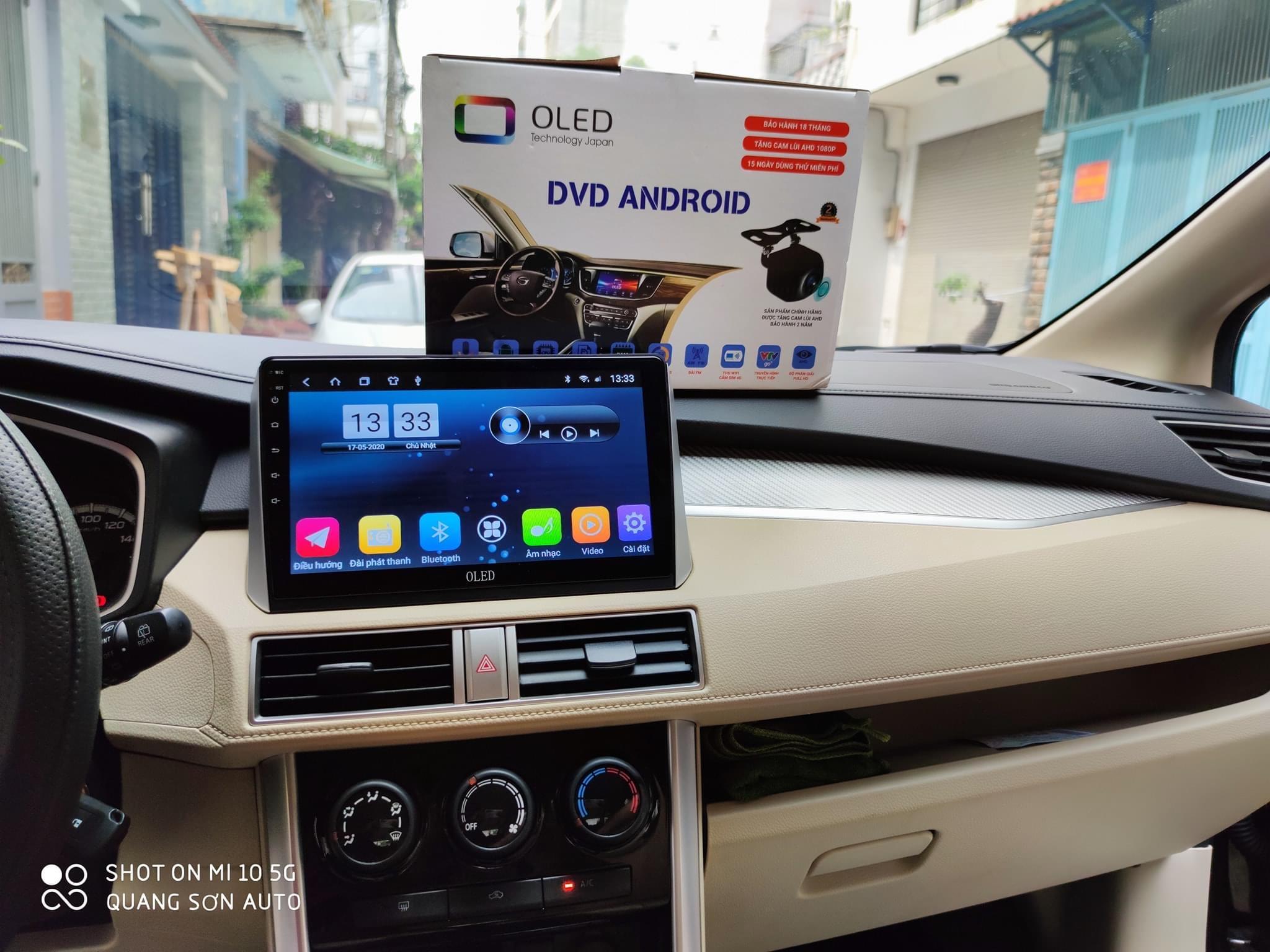 Lắp Đặt Màn Hình DVD Android Cho Ô Tô Tại TPHCM
