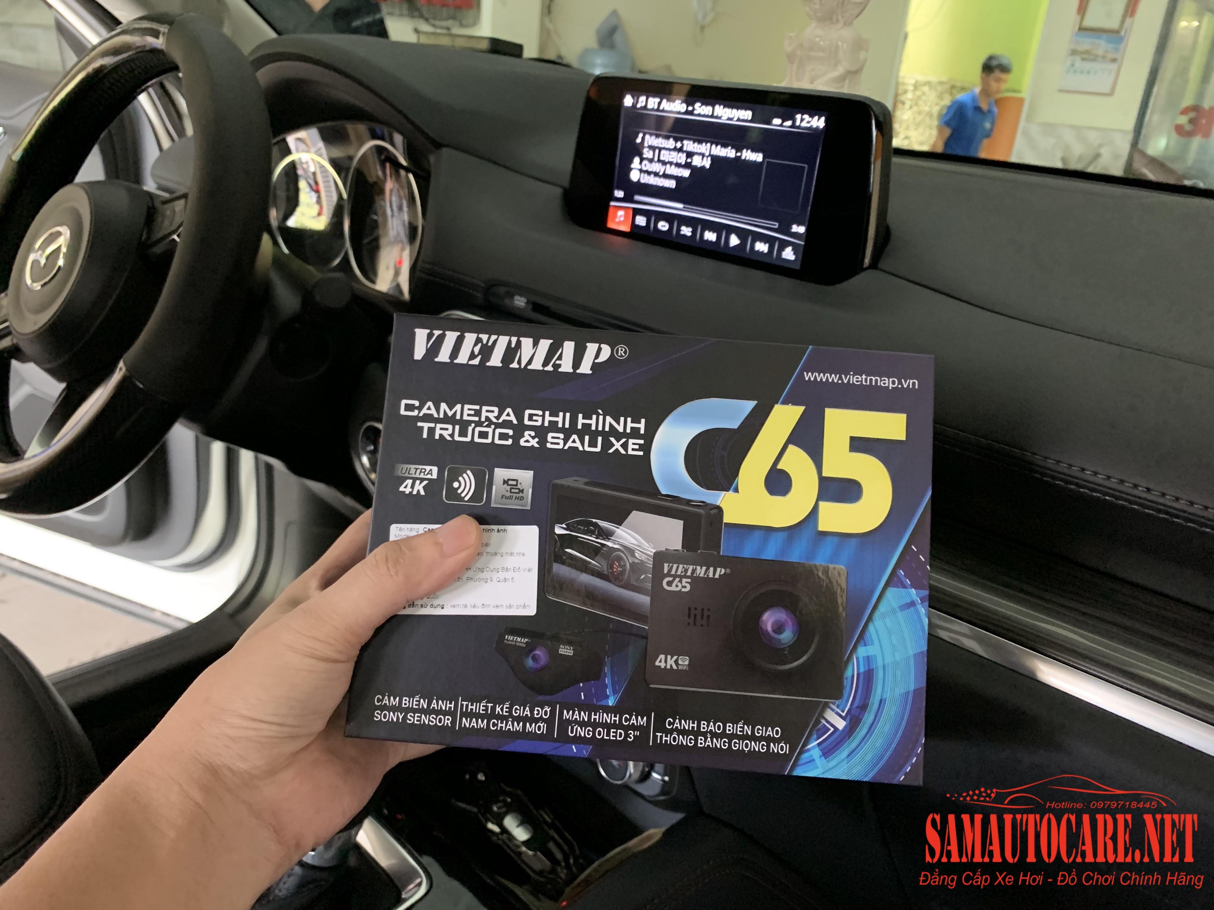 Camera Hành Trình Vietmap C65 Cho Mazda CX5