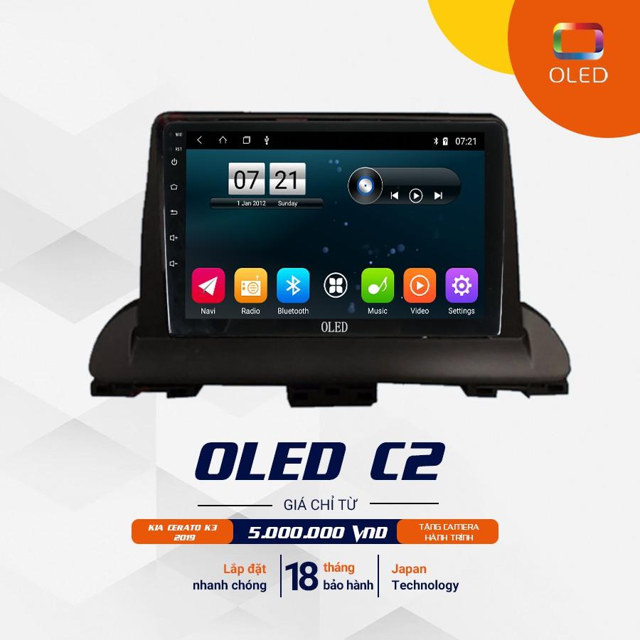 Màn Hình Android Oled C2 Cho Kia Cerato