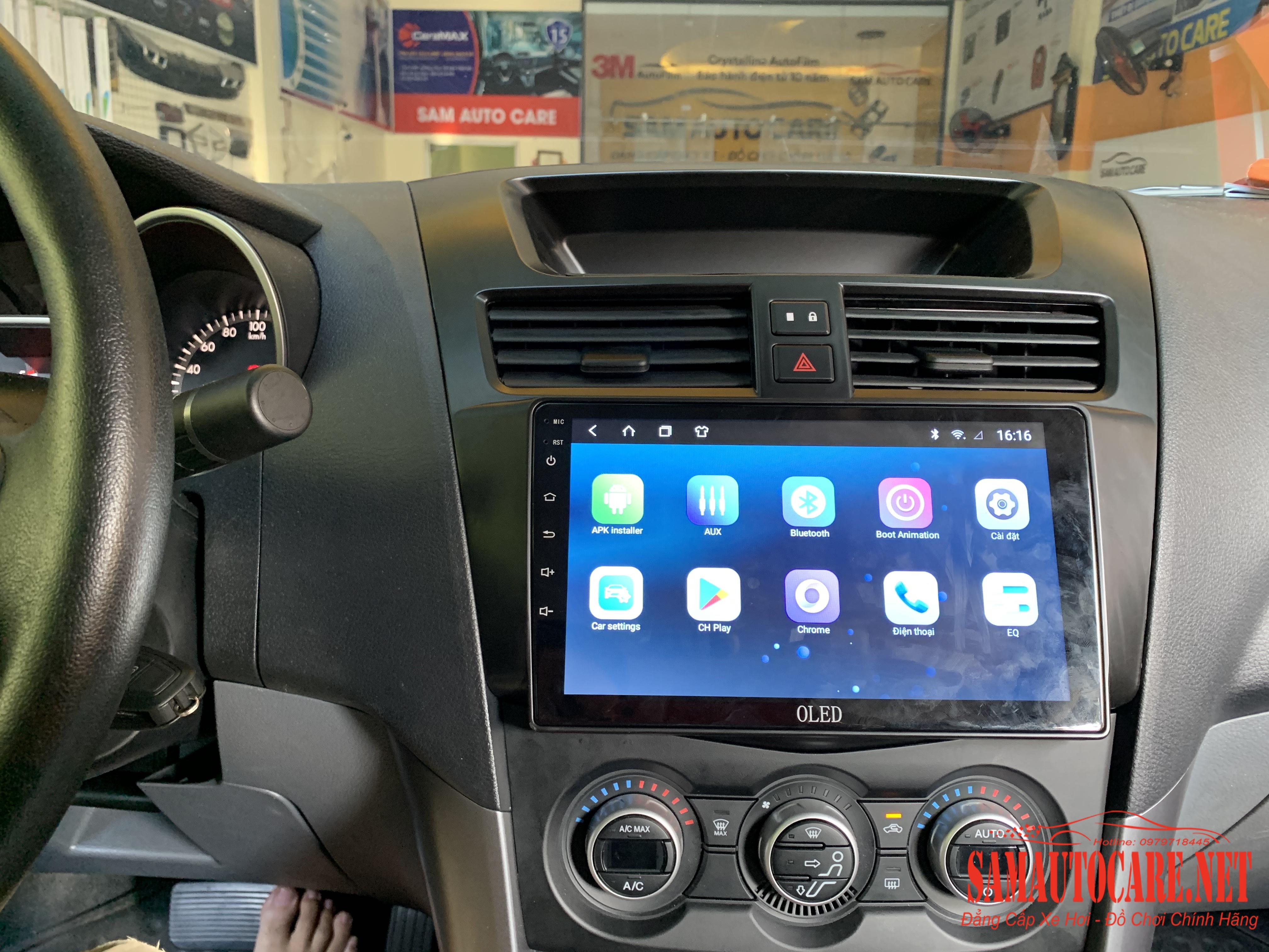 Màn Hình Android Cho Mazda BT50