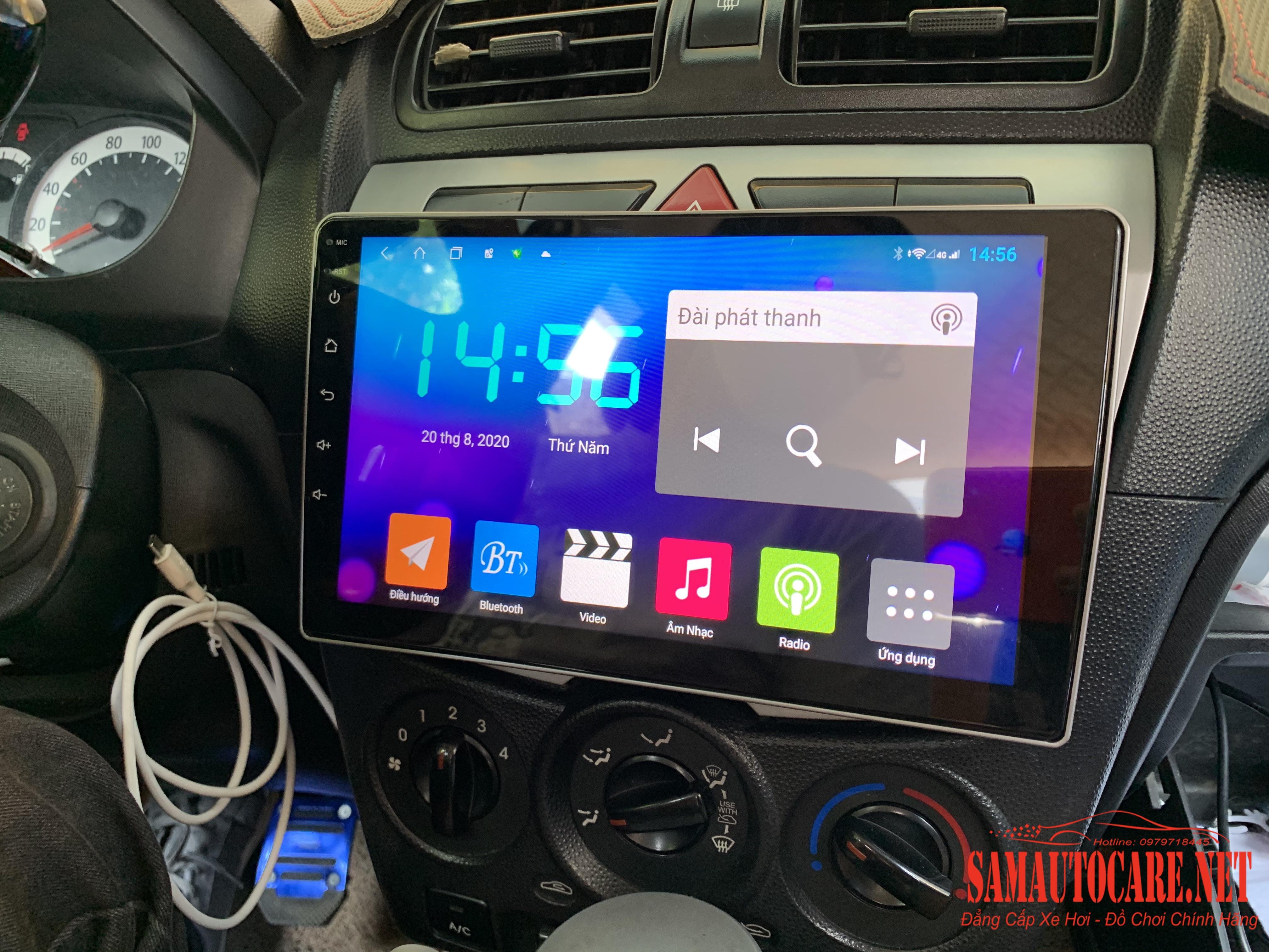 Màn Hình Android Cho Kia Morning 2008-2012