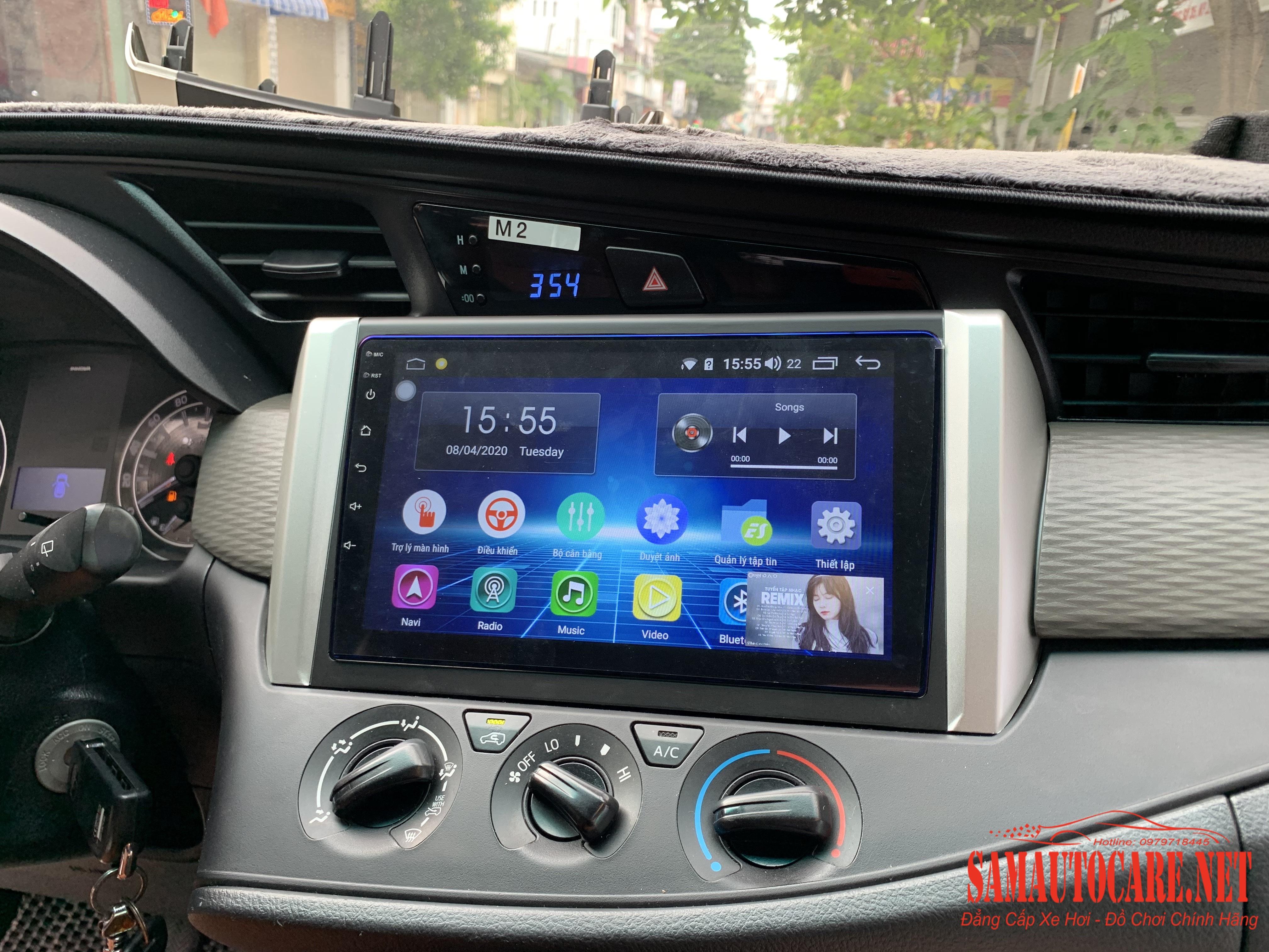 Màn Hình Android Cho Toyota Innova 2020