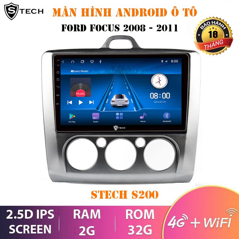 Màn Hình Android Stech S200 Cho Ford Focus 2008-2011