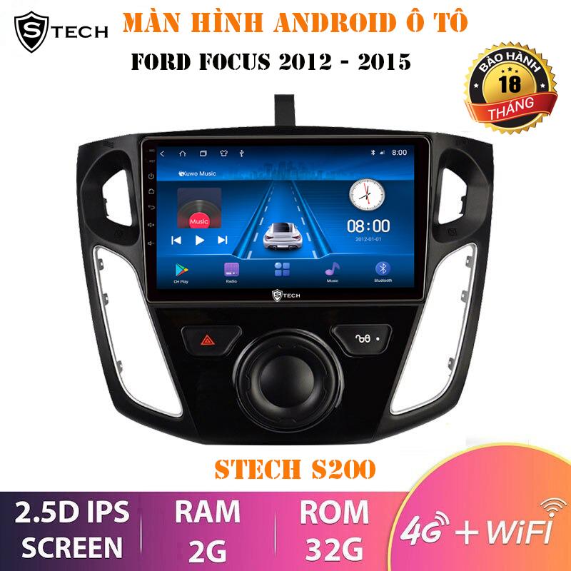 Màn Hình Android Stech S200 Cho Ford Focus 2013-2017
