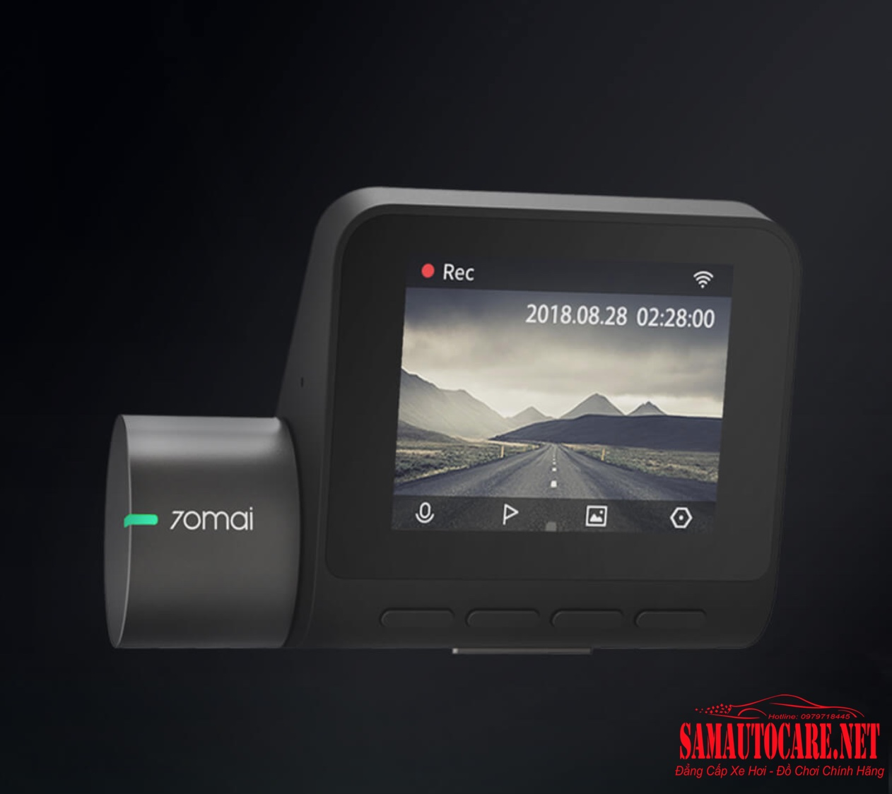 Camera 70mai Dash Cam Pro Plus A500