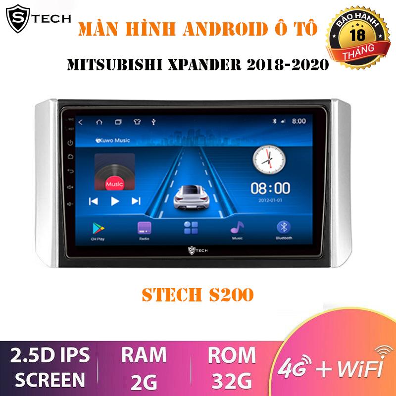 Màn Hình Android Stech S200 Mitsubishi Xpander