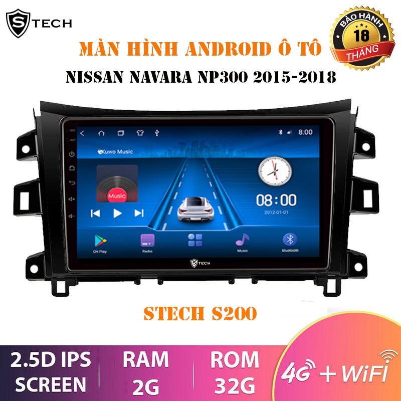 Màn Hình Android Stech S200 Nissan Navara