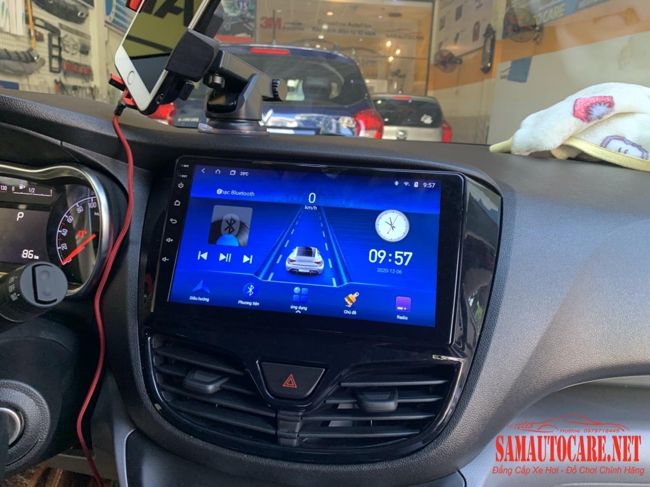 Màn Hình Android Stech S200 Xe Fadil