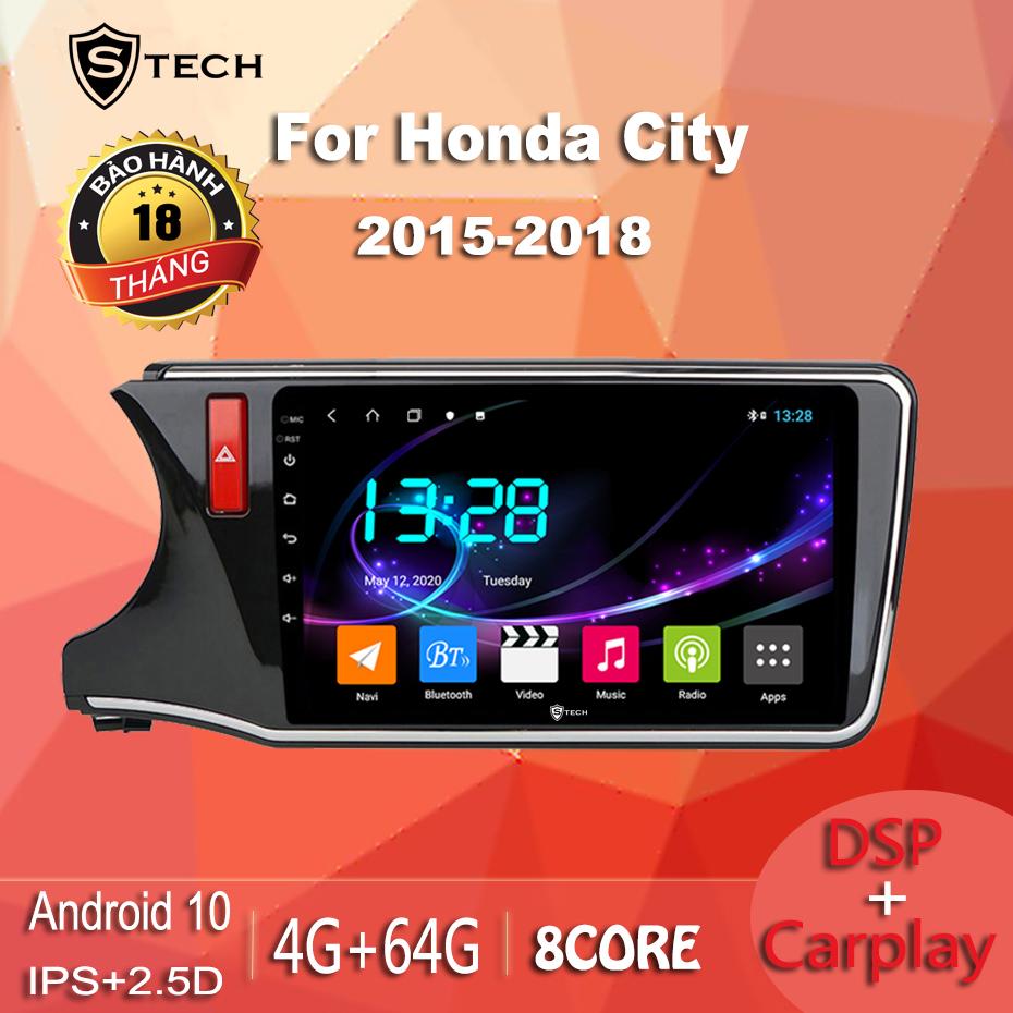 Màn Hình Android Stech S600 Xe Honda City 2019