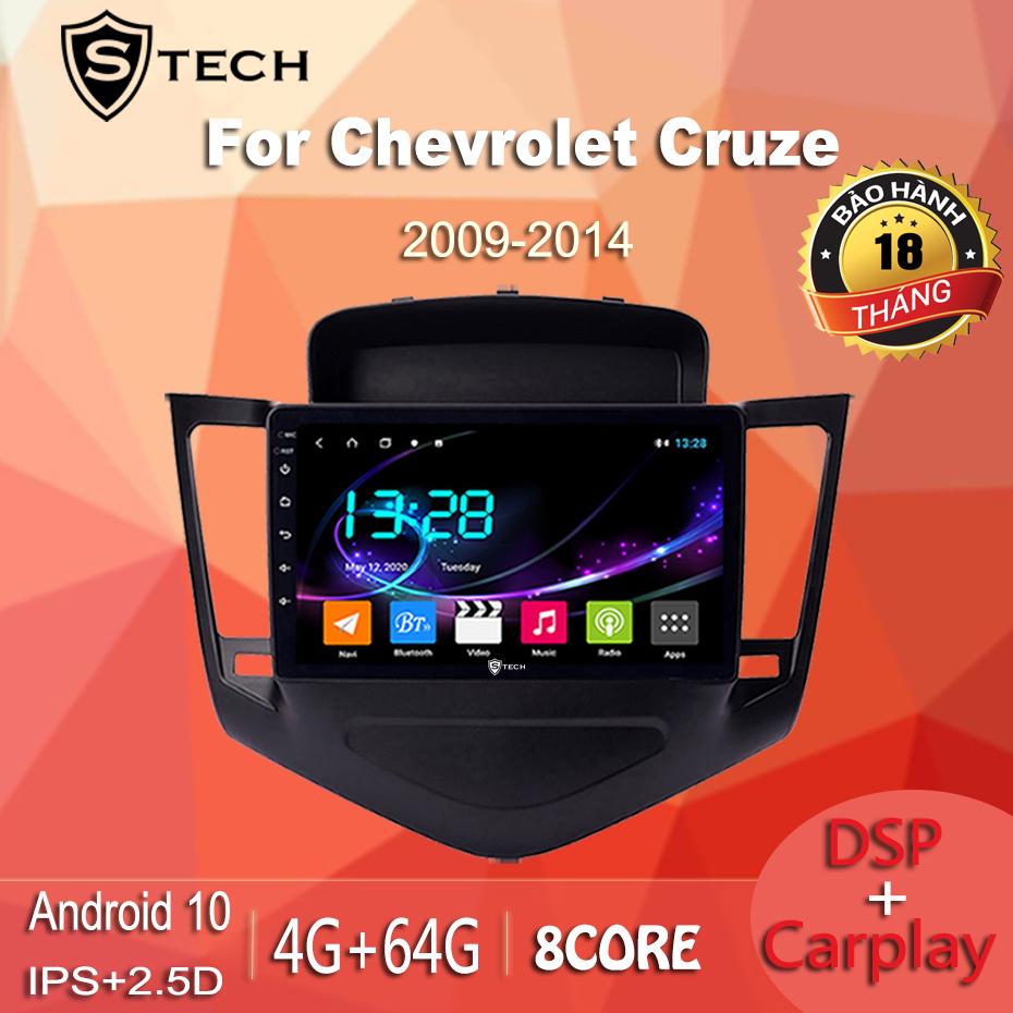 Màn Hình Android Stech S600 Xe Chevrolet Cruze