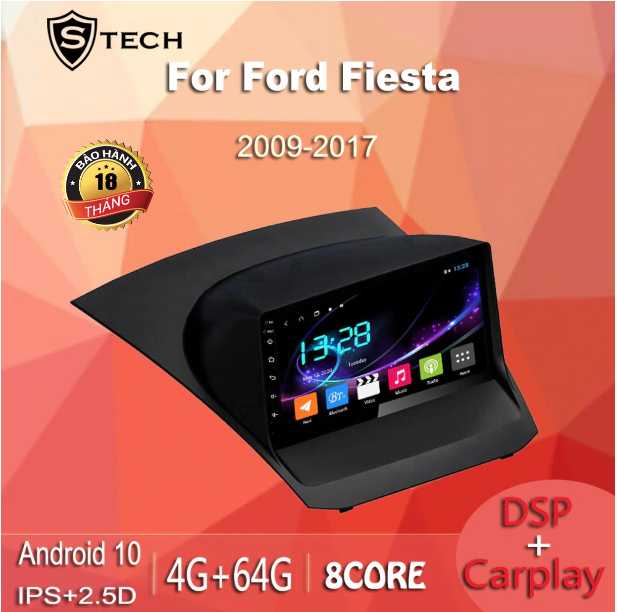 Màn Hình Android Stech S600 Xe Ford Fiesta 2011
