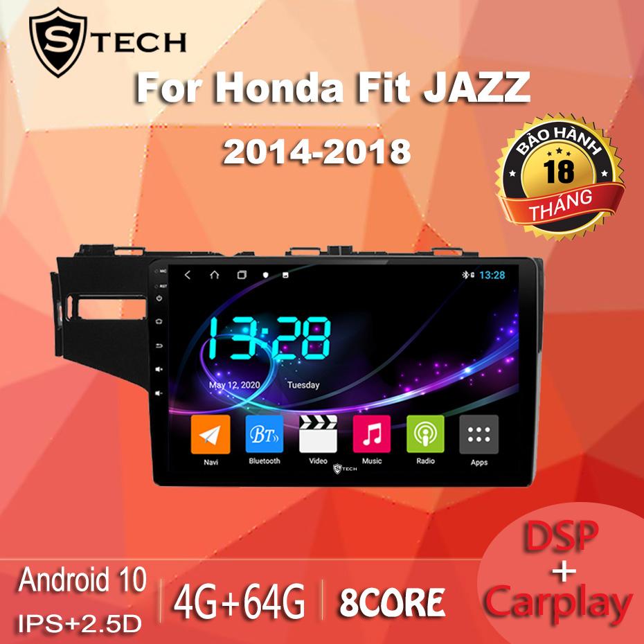 Màn Hình Android Stech S600 Cho Honda Jazz