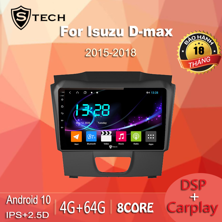 Màn Hình Android Stech S600 Isuzu Dmax