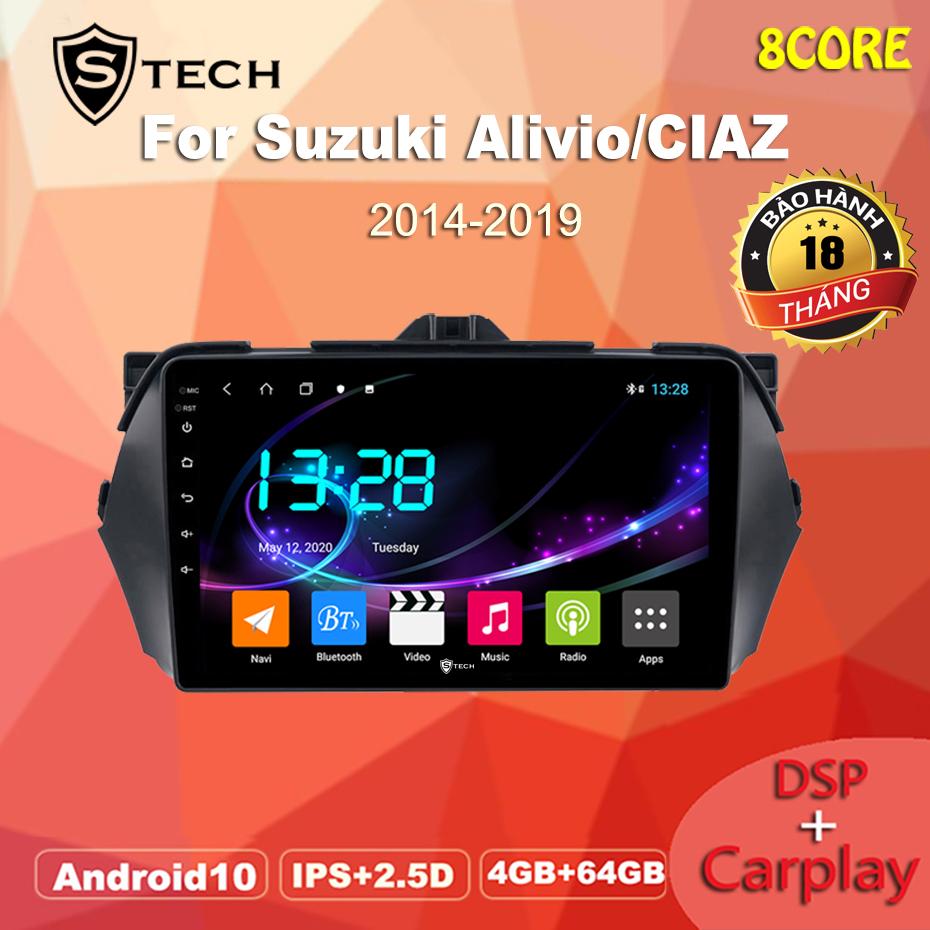 Màn Hình Android Stech S600 Cho Suzuki Ciaz 2019