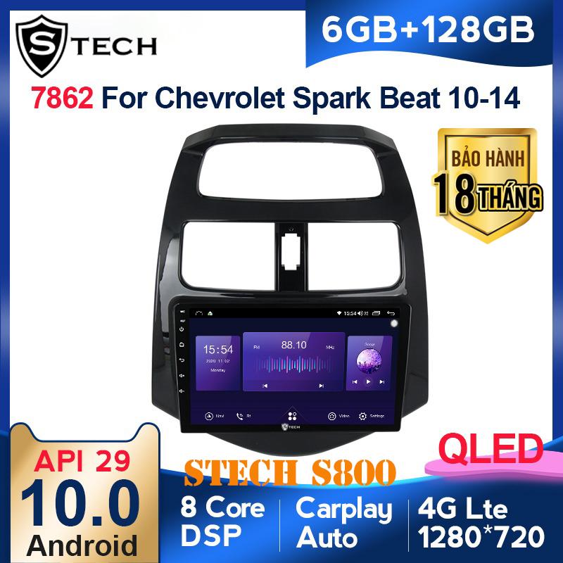 Màn Hình Android Stech S800 Xe Chevrolet Spark