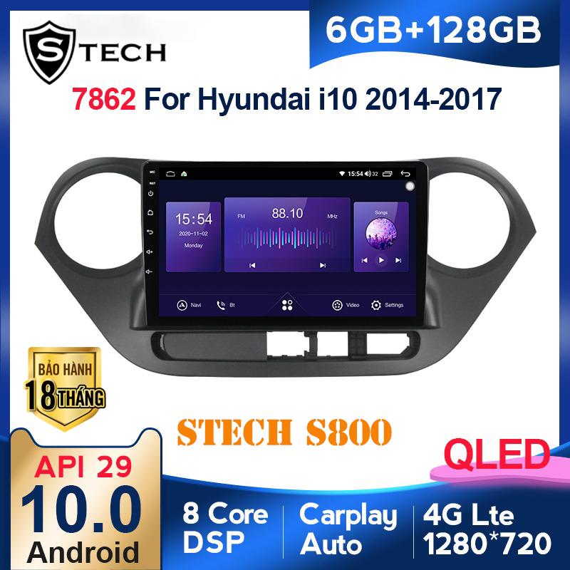 Màn Hình Android Stech S800 Hyundai I10