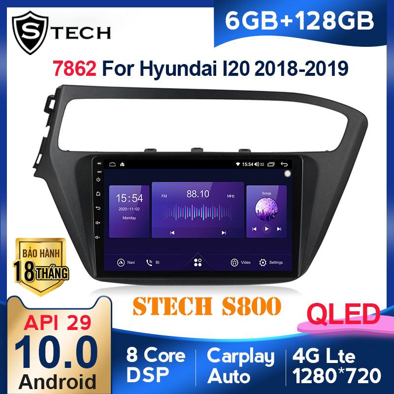 Màn Hình Android Stech S800 Xe Hyundai I20