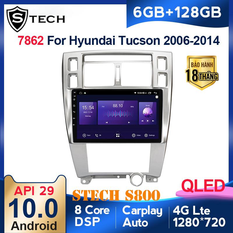 Màn Hình Android Stech S800 Xe Hyundai Tucson 2014
