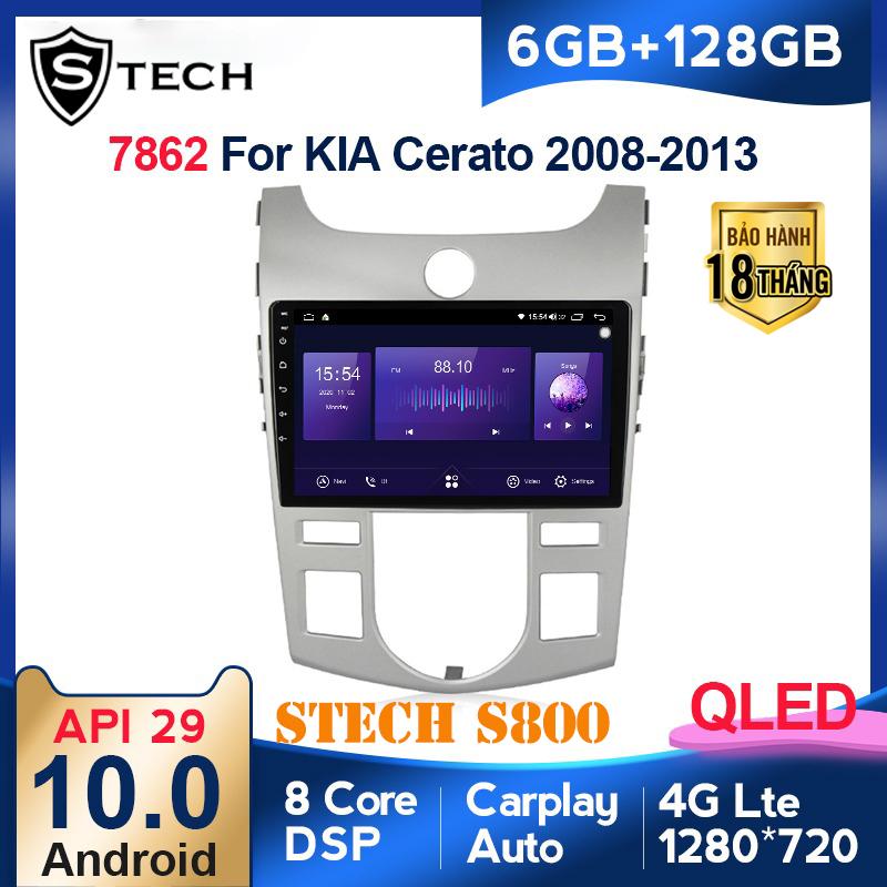 Màn Hình Android Stech S800 Xe Kia Cerato 2012
