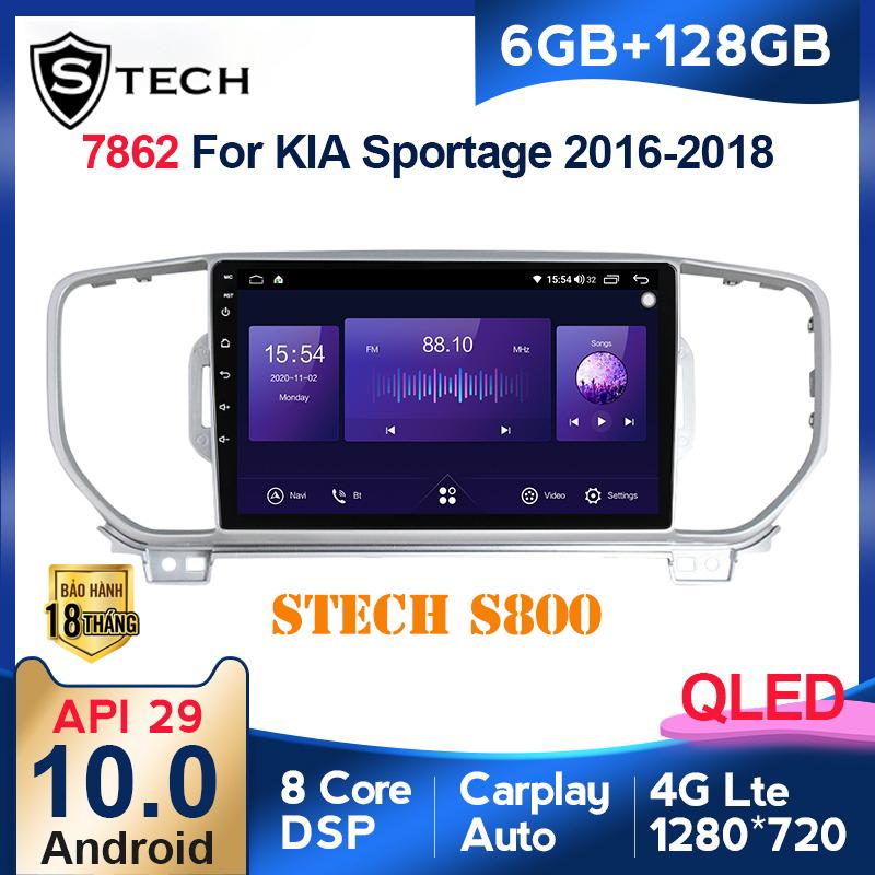 Màn Hình Android Stech S800 Xe Kia Sportage