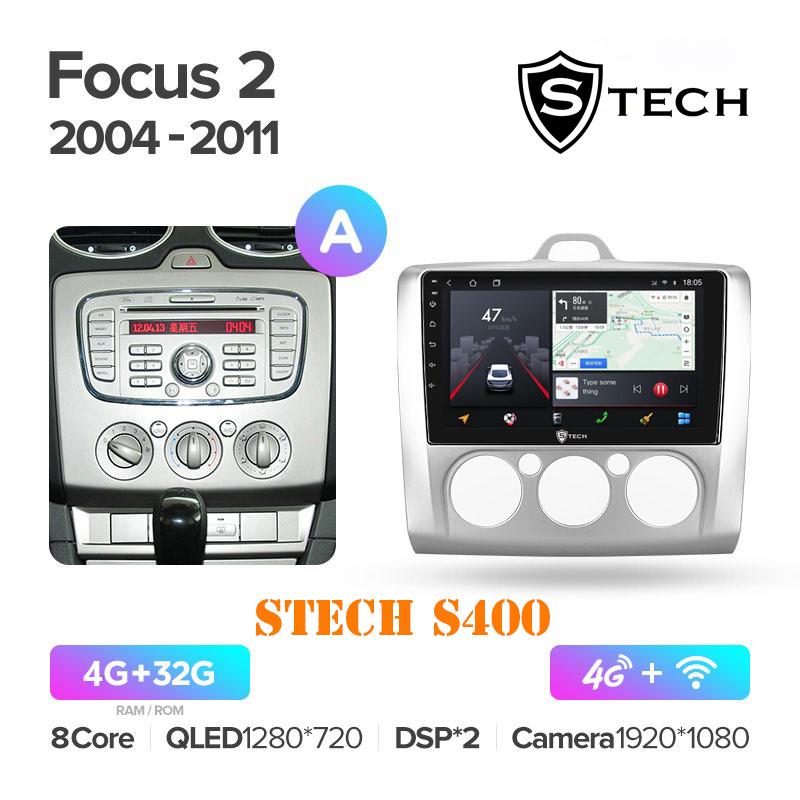 Màn Hình Android S400 Cho Xe Ford Focus 2004 - 2011